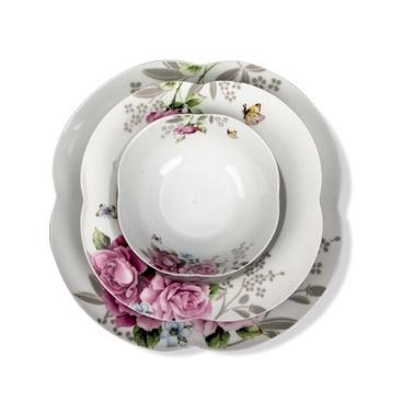Aryıldız By Orient 24 Parça Yemek Takımı Rose Garden Renkli